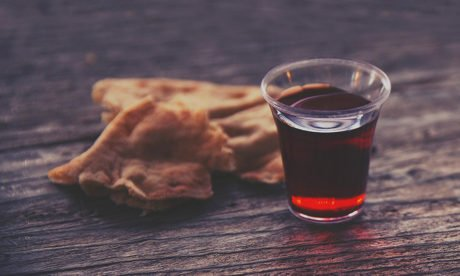 Day 21: Communion Shared with Leaders